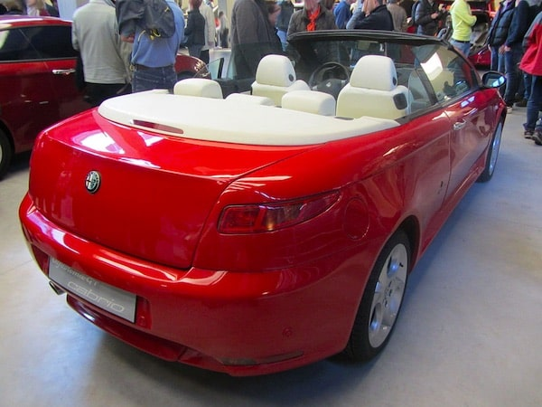 Alfa Romeo GT spider cabriolet
