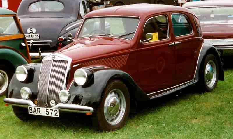 Lancia Aprilia 1937