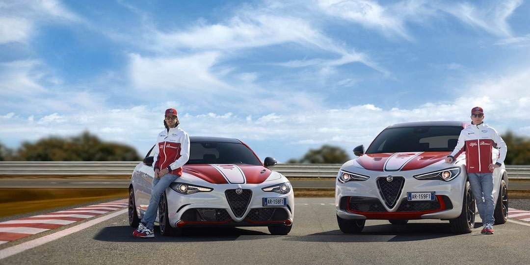 Edition limitée Giulia & Stelvio Alfa Romeo Racing