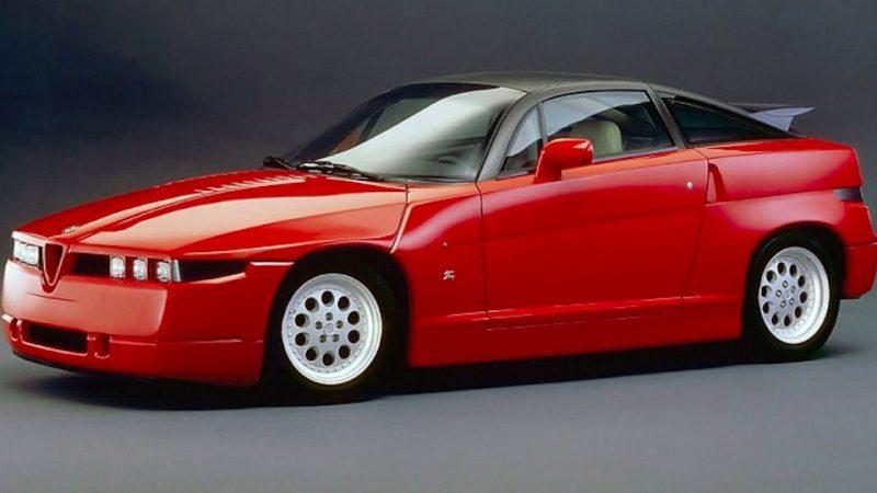 """Alfa Romeo SZ : """"Il Mostro""""… Le monstre gentil !"""