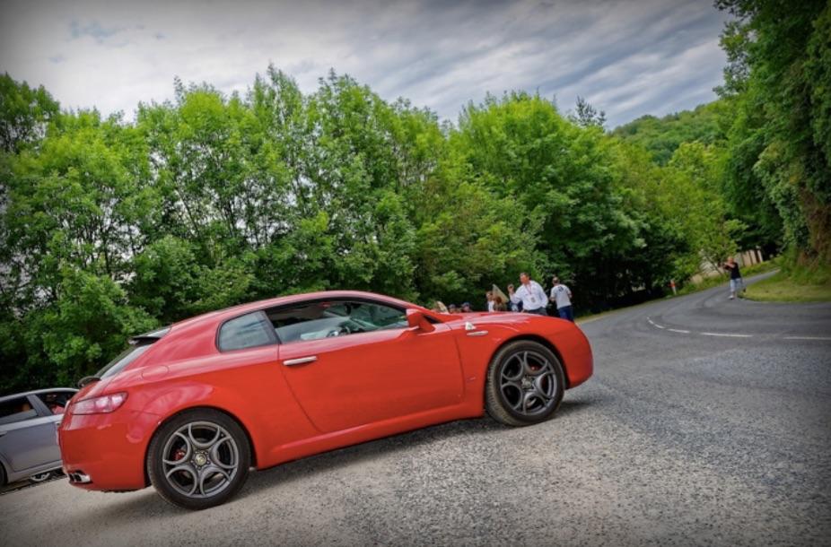 Alfa Romeo Brera, une ligne à couper le souffle !